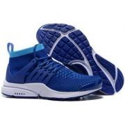 Air Presto Flyknit Blue Training Shoes Blue