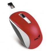 Mouse Inalámbrico Genius NX-7010-Rojo