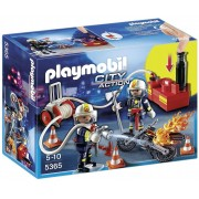 City Action Playmobil City Action Firefighters with Water Pump
