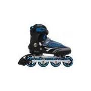 Patins Roller Inline Pro - Abec-7 Alumínio - B Future 7000 - Azul
