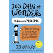 365 Days of Wonder: Mr. Browne's Precepts, Paperback