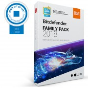 Bitdefender Family Pack 1jaar Unlimited-Devices