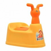 Feel Pride Baby Potty Training Seat - With Removable Bowl Lid(Orange)