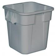Rubbermaid Mehrzweck-Behälter, quadratisch - Inhalt 105 l, LxBxH 550 x 550 x 580 mm - grau