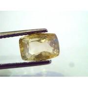 4.46 Ct Unheated Untreated Natural Ceylon Yellow Sapphire Pukhraj