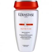 Kérastase Nutritive Bain Satin 2 champô nutritivo para cabelos normais, fortes a meio-seco 250 ml