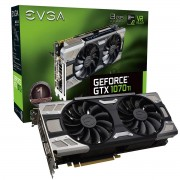 Видео карта EVGA GeForce GTX 1070 Ti FTW ULTRA SILENT GAMING ACX 3.0 8GB GDDR5 256 bit 08G-P4-6678-KR