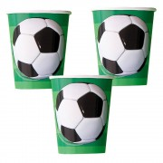 Football Party Cups (Pack of 8)