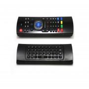MX3 Inalámbrico Mini Fly Air Mouse Teclado De Control Remoto Aprendizaje De IR (Negro)