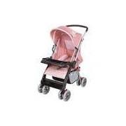 Carrinho De Bebê Berço Thor Rosa Coroa - Tutti Baby