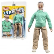 Figures Toy Company Stan Lee Retro 8 Inch Action Figure: Green Sweater Version