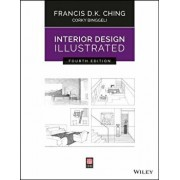 Interior Design Illustrated, Paperback/Francis D. K. Ching