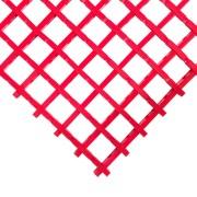 Červená olejivzdorná průmyslová univerzální rohož - 5 m x 60 cm x 1,2 cm (80000787) FLOMAT