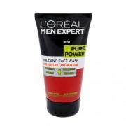 L´Oreal Paris Men Expert Pure Power Volcano Face Wash 150Ml For Perfect Clean Skin Per Uomo (Cosmetic)