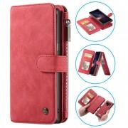 Bolsa Multifuncional Caseme 2-em-1 para Samsung Galaxy Note9 - Vermelho