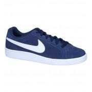 Nike Donkerblauwe Sneakers Nike Court Royale Suede