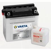 Bateria para moto Varta 12v 8ah 110A PowerSports Freshpack YB7-A 137 x 76 x 134 mm