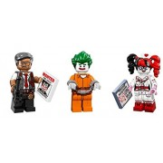 LEGO Lego Joker Harley Quinn Commissioner Gordon Minifigures Lego Batman