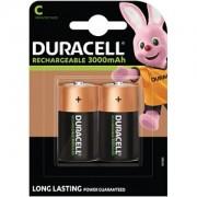 Duracell aufladbare Batterien der Größe C (Babyzellen) (HR14)