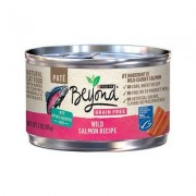 Purina Beyond Grain-Free Wild Salmon Pate Recipe Canned Cat Food, 3-oz, case of 12