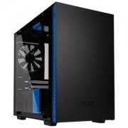Carcasa NZXT H200i Tempered Glass Matte Black/Blue