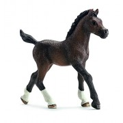 Schleich 13762 Arabian Foal Figurine, Brown