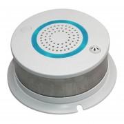 Louiwill Detector De Humo Inteligente Inalámbrico Kobwa Con Alarma De Alta Temperatura, Control De APP Y Alarma Remota WIFI