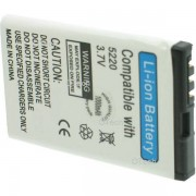 Otech Batterie de téléphone portable pour NOKIA BL-5CT / 5220 3.7V 1000mAh