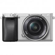 Sony Alpha A6300 Zilver + PZ 16- 50mm OSS