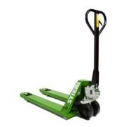 STIER Transpalette STIER, capacité de charge 2 500 kg, longueur de fourche 1 150 mm, pneus nylon, vert