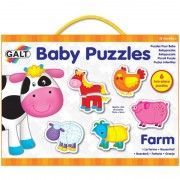 Baby Puzzle Ferma 2 piese Galt