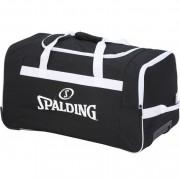 Spalding Sporttasche TEAM TROLLEY - schwarz/weiß