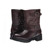 Polo Ralph Lauren Biker Boot (Big Kid) Brown Leather