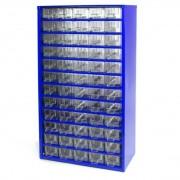 MARS Metalowe szafki z szufladami, 60 szuflad
