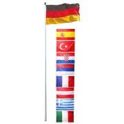 Fahnenmast inkl. Deutschlandfahne ~ Variantenangebot