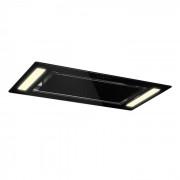 Klarstein Remy mennyezeti páraelszívó, beépíthető, 90 cm, EEK A, 620 m³/h, érintésvezérlés, LED, üveg (CGCH2-Remy-BL)