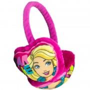Barbie Roze Barbie oor warmers voor meisjes