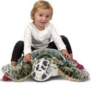 Голяма плюшена играчка Костенурка - 12127 - Melissa and Doug, 000772121279