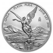 Casa de Moneda de México stříbrná mince Mexico Libertad 1 oz 2018