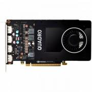 PNY NVIDIA Video Card Quadro P2000 GDDR5 5GB/160bit, 1024 CUDA Cores, PCI-E 3.0 x16, 4xDP, Cooler, Single Slot DP-DVI-D Cable incuded, Bulk package 10 pcs in a box VCQP2000BLK-1