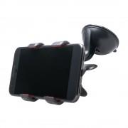 Shop4 - Huawei Mate 20 Autohouder Dashboardhouder Klem Zwart