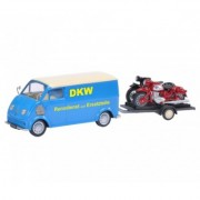 "DKW Schnelllaster ""DKW"" with bike trailer and DKW RT 125, DKW RT 350 + EKSPRESOWA WYSY?KA W 24H"
