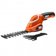 Black & Decker Kit con tijera cortacésped + arreglasetos 7 V Black&Decker