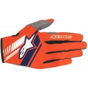 Alpinestars Neo Motocross handskar Blå Orange 2XL