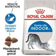 Royal Canin INDOOR - granule pro kočky žijící uvnitř - 4kg