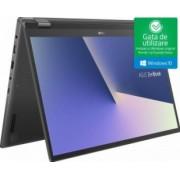 Ultrabook 2in1 Asus ZenBook Flip 15 Intel Core Whiskey Lake (8th Gen) i5-8265U 256GB SSD 8GB Win10 FullHD Tast. il. Husa+Stylus Gun Metal