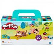 Set pasta modelabila Play-Doh Super Colour Pack 20 culori