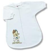 Spací vak pre bábätká - Perfect, biely veľkosť: 56