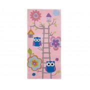 Think Rugs Koberec Owl on Ladder Pink 70x140 cm