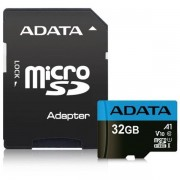 Adata 32GB Premier Micro SD Card With SD Adapter, Uhs-i Class 10 With